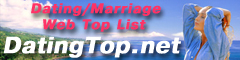DatingTop.net - categorized dating/marriage Web Top List.